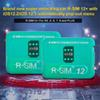 Brand New Original Rsim 12+ the latest version RSIM 12 Unlocking Card for All iPhone IOS 12.3 AUTO-Unlocking 4G LTE US JP