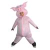 Funny Pink Pig Riding Suit Latest Inflatable Clothing Adult Men And Women Halloween Carnival Party Role Playing Toys