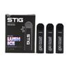 Vgod Stig Pod Starter Kits 270mAh Full Charged Disposable Vape Pens E Cig with 1.2ml Portable Aio System TPD Package