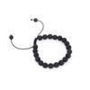Black Lava Natural Stone Beads Bracelets for Women Vintage Design Volcanic Rock Tiger Eye Bead Strand Bracelet Men Jewelry Gift