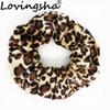 LOVINGSHA Leopard Women Hair Accessories Ladies Hair Tie Striped Lady Scrunchies Ponytail Female Girl Holder Rope FC117