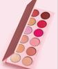Jenner 2019 The Valentine Eye Shadow Palette pressed powder palette 12 Color highlighter 1pcs fast shipping