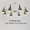 8 Heads Gray