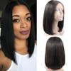 Human Hair Bob Wigs Brazilian Virgin Hair Straight Lace Front Short Hair Wigs For Black Women Swiss Lace Frontal Wig Bob 8-14 inchs