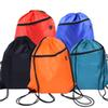 Wholesale Portable Drawstring Bag Solid color casual backpack Camping Gym Bag Men Outdoor Backpack headphone Bag Casual Shopping backpack