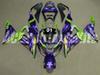 3gifts New Motorcycle Fairing kit Fit for KAWASAKI Ninja ZX6R 636 599 2013 2014 2015 2016 6R 13 14 15 16 Bodywork set cool purple green