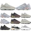 Salt Inertia 700 Wave Runner OG Solid Grey Mens Women 3M 700 V2 Geode Static Mauve Kanye West Sport Designer Sneakers 5-11.5