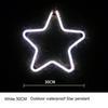 النجوم 30CM الأبيض