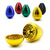 Tumbler Herb Grinder 58mm Egg Grinders 4 Parts Metal Grinder Made of High Quality Aluminum Alloy 5 Colors Optional