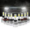 2PCs S2 8000ML Bright COB LED H4 Led H7 Car Headlight Bulbs H11 H13 H1 9005 9006 9007 Conversion Kit 6500K Beam 12V Light