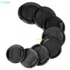 Size 49mm - 82mm Snap-On Lens Front Camera Lens Cap Cover for Canon Nikon Sony Alpha DSLR Lens Protector
