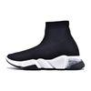 36-45 clear sole black white