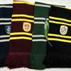 Harry Potter College Gryffindor Series Scarf With Badge Cosplay Knit Scarves Stripes Wrap Unisex Boys Girls Scarf