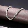 Cor de prata-20 polegadas * 3 mm