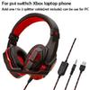 P4 headset_red
