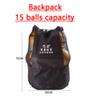 Backpack, 15 balls capacity