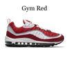 صالة رياضية حمراء