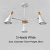 3 Heads White
