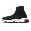 36-45 clear sole black red