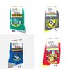 Harry Potter Series Socks Gryffindor Slytherin Ravenclaw Hufflepuff College with badge socks high quality good socks Wholesale TFJ677