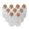 25ml 30ml Tiny Mini Test Tube Bottles with Corks Jars For Wedding Gift Decoration Mini Jars for Spices Container 50pcs