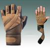 M-XL Gym Body Building Training Fitness Gloves Sports Equipment Weight Lifting Workout Breathable Wrist Wrap T28