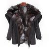 renard noir + ruban