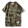 Fashion Brand Designer T Shirt Mens Tshirt Couple Sport Camouflage t-shirt Champions Tshirts Hip Hop Harajuku T-shirt Women Short sleeve