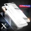 For Iphone XR XS MAX X 10 8 Plus Back Tempered Glass Screen Protector Film 2.5D 9H with Wips No Package