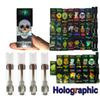 Dank Vapes M6T Vape Cartridges Packaging with Hologram Press on Tip 3D Oil Cartridge Ceramic Coil Holographic Box 0.8ml 1ml Tanks Vaporizer