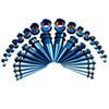 Kit blu 36 pezzi