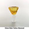 14 мм мужской желтый алмаз