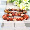 New Design 10MM Natural Stone Bracelet Men Wholesale 10pcs lot Beaded Bracelet For Women Best Friend Bangle Jewelry Gift