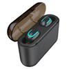 HBQ Q32 Bluetooth Wireless Earphone Stereo Earbuds TWS Twins Gaming Earphone Waterproof Smart Touch with Microphone 1500mAh Charging Box