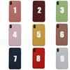 Soft thin Candy Colors phone Case for Apple iphone XS MAX XR X 8 7 6 6s Plus TPU Silicone cover Original fundas