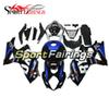 Complete Fairings For Suzuki GSXR1000 K7 Year 2007 2008 07 08 Injection ABS Plastics Motorcycle Fairing Cowling Blue Black Carenes Panels