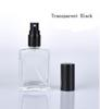 Negro transparente