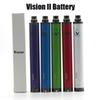 Vision Spin 2 1600mah eGo Twist 3.7V--4.8V Vision Spin II Battery Variable Voltage For E-Cig Atomizers