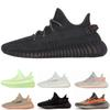 2019 V2 Static Clay Glow In The Dark True Form Hyperspace Mens Women Running Shoes Kanye West Beluga 2.0 Orange Bred sports Sneakers
