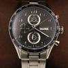 wholesale mens wristwatches 44mm size CAL 1887 automatic glide smooth watches Black face Stainless steel case watch Calibre 16