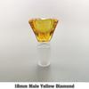 18 мм мужской желтый алмаз