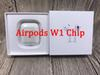 Animation Showing Supercopied W1 Chip Bluetooth Double Earphone For Airpod Headset Touch Voice Control Top Sound Quality High Level Battery