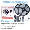 5050 RGB 10M / IP65 10A 600LEDs