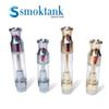 No Leak Gold Ceramic th210&th105 Cartridge Pyrex Glass Vaporizer Ceramic Drip Tip M6T Atomizer Coil Tank for 510 thread Vape Batteries