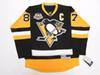 Cheap custom SIDNEY CROSBY PITTSBURGH PENGUINS HOME 50th ANNIVERSARY PREMIER JERSEY stitch add any number any name Mens Hockey Jersey XS-6XL