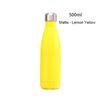 Матовый - Lemon Yellow