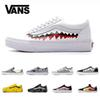Original Vans Old Skool Classic Men Women Canvas Sneakers Black White YACHT CLUB Red Blue Fashion Trainers Skate Casual Shoes Designer Sport