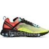 React Element 87 Light Orewood Brown Volt Racer Running Shoes High Quality Men Women Designers Blue Solar Red Sail Athletic Shoes With Box