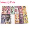 2019 New Black 1 Gram Monopoly Dank Vapes and Cereal Carts Cartridge Hologram Side Window Packaging Box Package G5 Cartridge 41 Flavors
