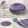 New Design 75*75cm Mandala Pillow Case Hippie Boho Throw Cushion Cover Floor Pillow Cover Bohemian Pillowcase Vintage Sofa Decoration